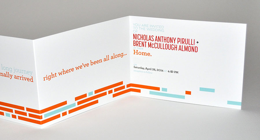 Brent nick wedding invitation card and invitation design 2014 cards and invitations design award winner stopboris Image collections