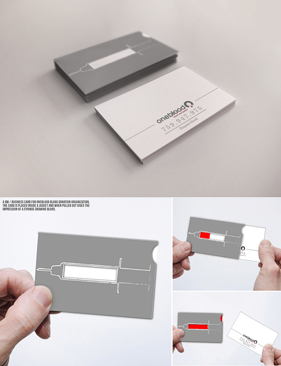 2014 business card student design award winner