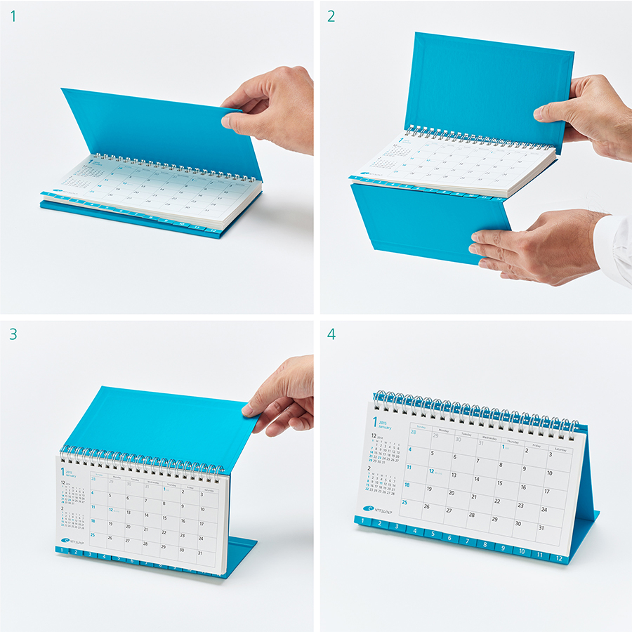 Calendar Design Competition : Multi use desk calendar design award