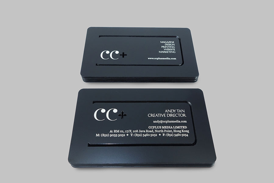 CC+ Media Limited - Business Card Design Award