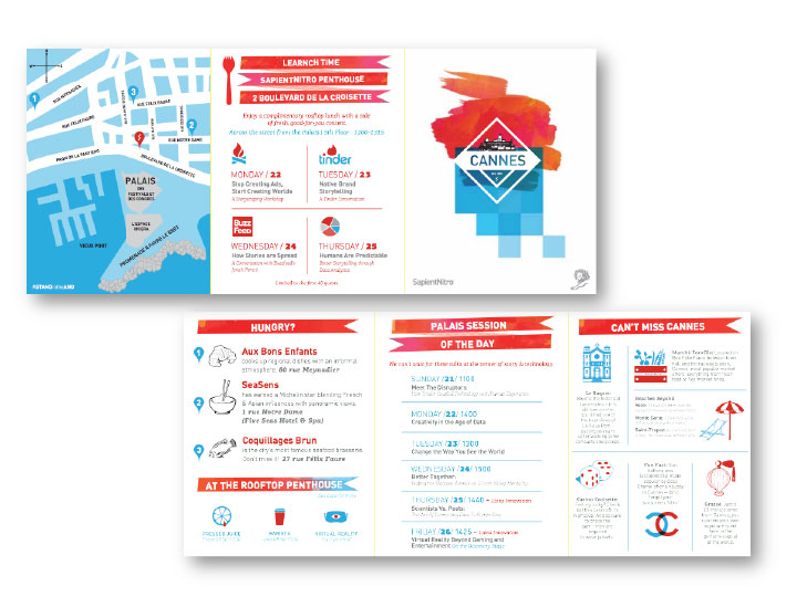 2015 Creative Firm Self Promotion Campaign Design Award Winner
