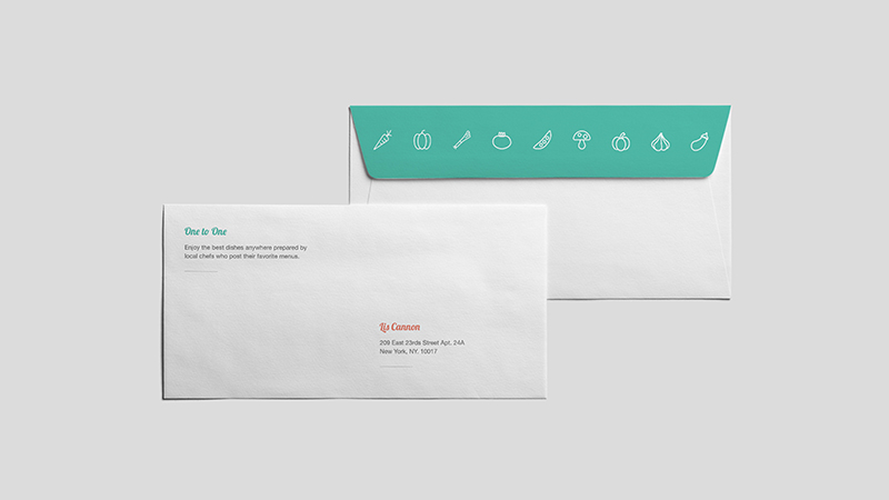 2016 Student Letterhead and Envelope Set Design Award Winner