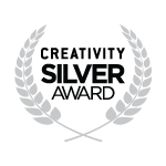 Creativity 2019 Silver Award Logos
