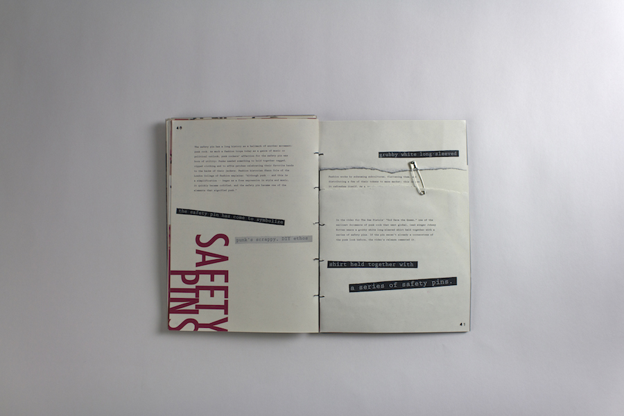 2018 Student Book Design Award Winner